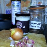 Coconut oil and ingredients to make oleolux