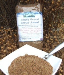ground linseed