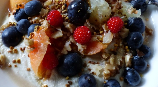 TOFU AND BRAZIL NUT BUDWIG MUESLI
