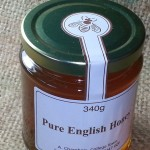 Raw cold-pressed honey