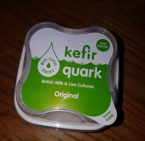 Live kefir quark cottage cheese