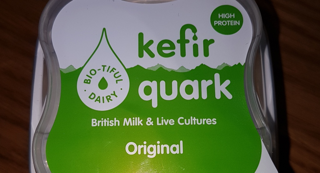 Live kefir quark cottage cheese