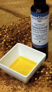 Flax farm organic cold-pressed flax linseed oil